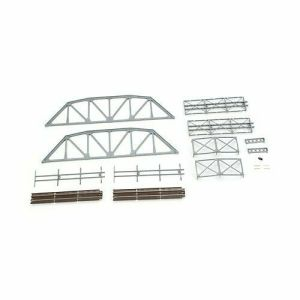 Atlas N Scale Code 55 Track Through Truss Bridge Kit – Silver 2071