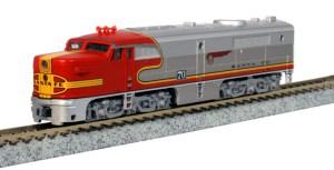 Kato N Scale AT&SF Santa Fe PA-1 #70L Warbonnet 176-4120