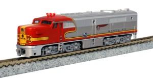 Kato N Scale AT&SF Santa Fe PA-1 #74L Warbonnet 176-4121