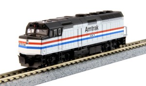 Kato N Scale Amtrak EMD F40PH Phase III #381 176-6107