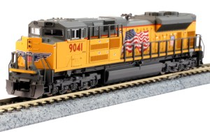 Kato N Scale Union Pacific SD70ACe UP #9041 176-8520