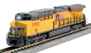 Kato N Scale Union Pacific ES44AC UP #5380 176-8932