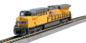 Kato N Scale Union Pacific ES44AC UP #5467 176-8933