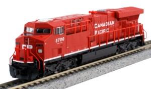Kato N Scale Candian Pacific ES44AC CN #8700 TCS DCC 176-8934DCC