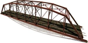 Central Valley Model Works HO 200 Ft Parker Truss Double Track Bridge Kit 1900