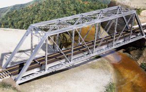 Central Valley Model Works HO 150′ Gusseted Girder Bridge Kit 1906