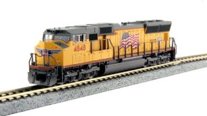 Kato N Scale Union Pacific SD70M UP #4848 TCS DCC 176-8610DCC