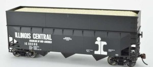 Bowser HO Illinois Central #80398 (Built 1-67) Wood Chip Hopper 42600