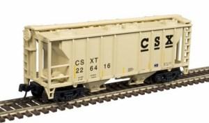 Atlas N Scale Trainman PS-2 Covered Hopper ~ CSX #226416 50004173