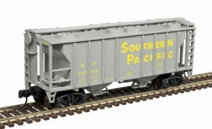 Atlas N Scale Trainman PS-2 Covered Hopper Southern Pacific #402072 50004179