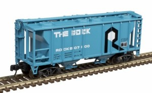 Atlas N Scale Trainman PS-2 Covered Hopper Rock Island #507100 50004191