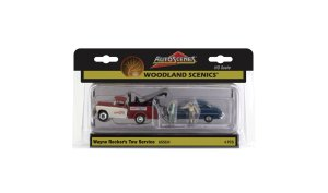 Woodland Scenics HO Wayne Recker's Tow Service AS5524