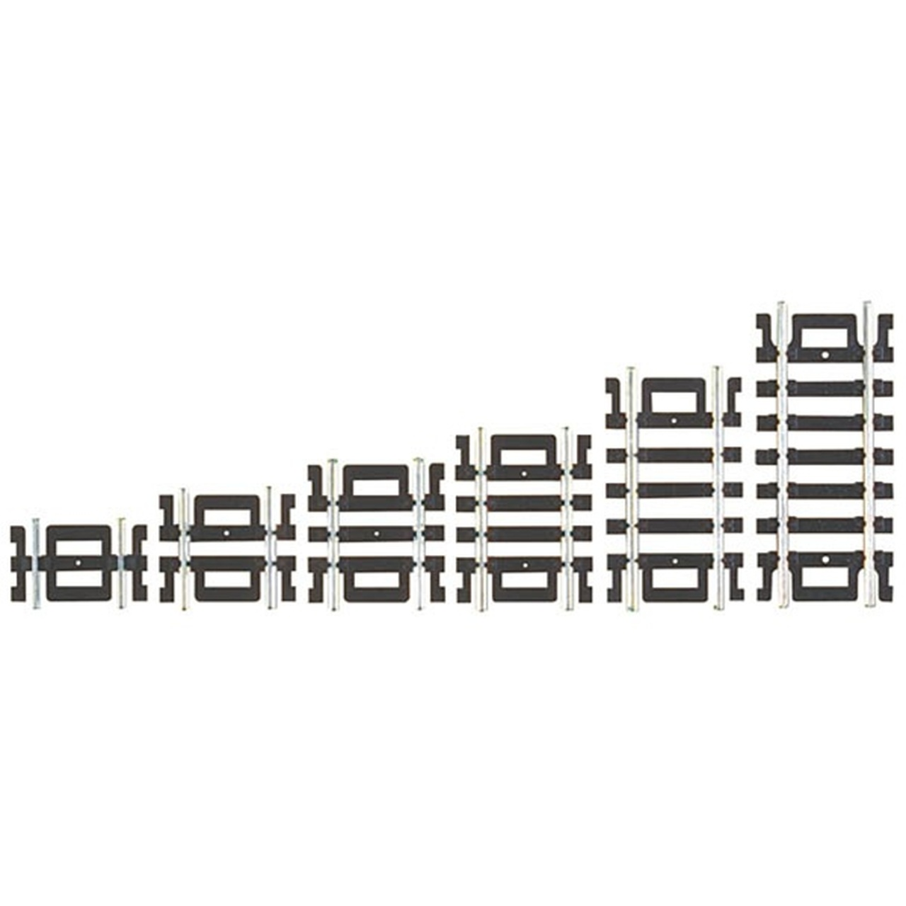 Atlas HO Code 100 Straight Track Assortment (12 pcs) 847
