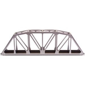 Atlas HO Code 100 18″ Through Truss Bridge Kit Silver 889