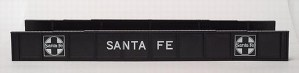 Atlas HO Code 100 Santa Fe ATSF Plate Girder Bridge Kit 893