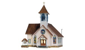 Woodland Scenics HO Built and Ready Community Church BR5041