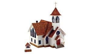 Woodland Scenics HO Built and Ready Community Church BR5041