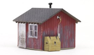 Woodland Scenics HO Built and Ready Work Shed BR5057