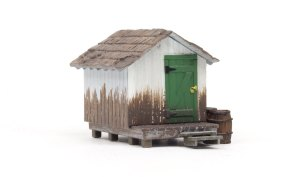 Woodland Scenics HO Built and Ready Wood Shack BR5058