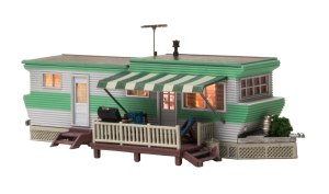 Woodland Scenics HO Built and Ready Grillin' & Chillin' Trailer BR5060