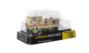 Woodland Scenics HO Built and Ready Double Decker Trailer BR5061