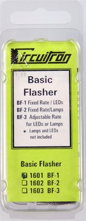 Circuitron Alternating Flasher For Lamps ~ Fixed Rate BF-2