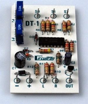 Circuitron DT-1 Bi-Directional Grade Crossing Detector ~ 5201