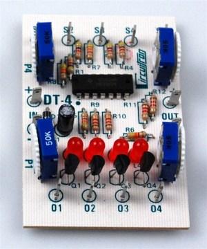 Circuitron DT-4 Bi-Directional Rolling Stock Detector ~ 5204