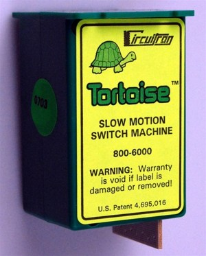Circuitron Tortoise Slow Motion Switch Machine (12 pcs) 6012