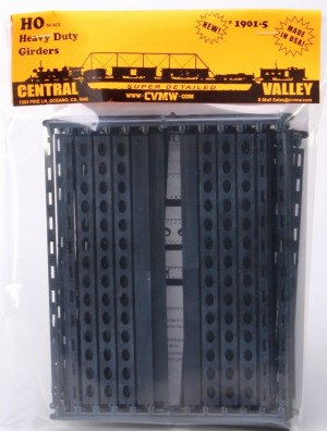 Central Valley Model Works HO Heavy Duty Windowed Box Girders Kit 1901-5