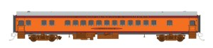 Fox Valley Models N Scale MILW Milwaukee Road Hiawatha Parlor Car Ishkoodah 40061