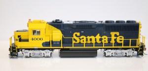 Fox Valley Models HO Scale GP60 ATSF Santa Fe #4001 DCC Ready 20201