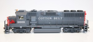 Fox Valley Models HO Scale GP60 SSW Cotton Belt #9635 DCC Ready 20351
