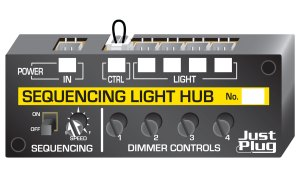 Woodland Scenics HO Just Plug Sequencing Light Hub JP5680