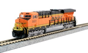 Kato N Scale Burlington Northern Santa Fe ES44AC BNSF #5931 176-8931