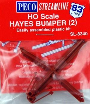 Peco HO Hayes Bumper Kit (2 pcs) SL8340