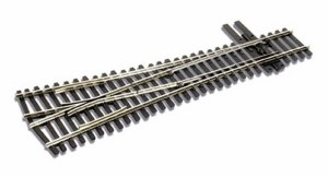 Peco HO Code 83 Wye Switch Track #4 Turnout Insulfrog SL8348
