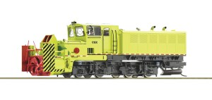 Roco HO Beilhack Rotary Snow Blower CSX ~ DCC & Sound 72803