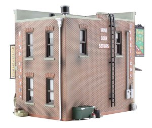 Woodland Scenics HO Built and Ready Corner Emporium BR5024