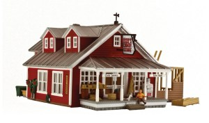Woodland Scenics HO Built and Ready Country Store Expansion BR5031