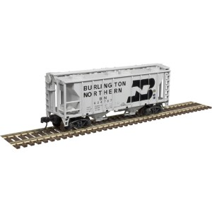 Atlas N Scale Trainman PS-2 Covered Hopper Burlington Northern #424754 50004182