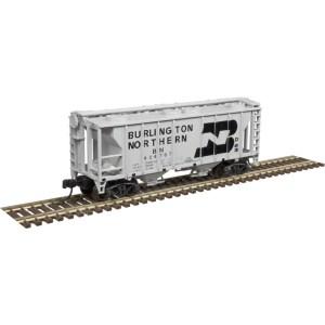 Atlas N Scale Trainman PS-2 Covered Hopper Burlington Northern #424754 50004182