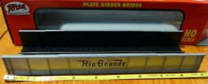 Atlas HO Code 100 Denver & Rio Grand D&RGW Plate Girder Bridge Kit 892