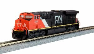 Kato N Scale Canadian National ES44AC #2801 176-8926