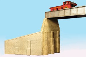 Monroe Models N Scale Bridge Abutments Cut Stone (2 pcs) 200