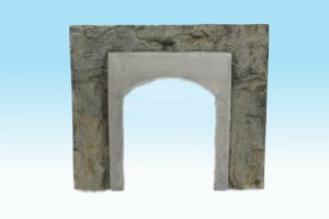 Monroe Models HO Tunnel Portal Concrete Lined Single Track 119