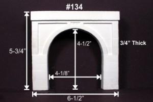 Monroe Models HO Tunnel Portal Modern Concrete Double Track 134