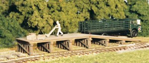 Monroe Models HO Railroad Loading Ramp 2203