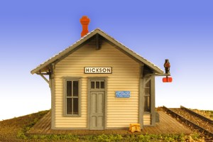 Monroe Models HO The Hickson Depot Laser Kit #2210