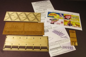 Monroe Models HO Double Billboard Laser Kit #2217